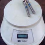 Kiel Schrauben Gewicht