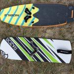Nobile Infinity Foil Splitboard im Vergleich zu Flyboard Prototyp