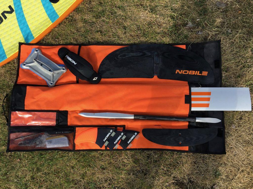 Nobile Infinity Foil Splitboard Organizer Bag